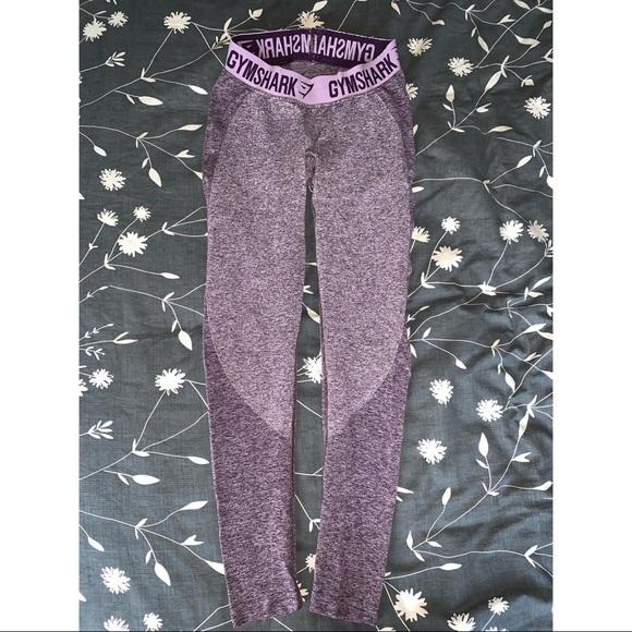 1e5ec95a394c36 Gymshark Pants | Flex Leggings Purple Wash Marlpastel Lilac Small ...